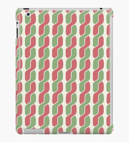 plait simple retro pattern iPad Case/Skin