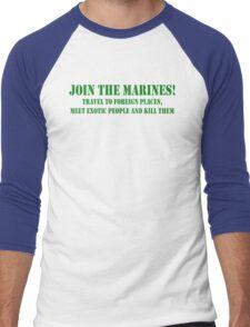 Join Marines Men's Baseball ¾ T-Shirt