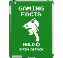Gaming Facts Spin Attack iPad Case/Skin