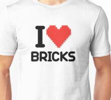 I love Bricks Unisex T-Shirt