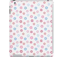 simple baby cute floral pastel pattern iPad Case/Skin