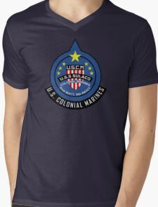 United States Colonial Marine Corps - Aliens Mens V-Neck T-Shirt