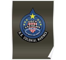 United States Colonial Marine Corps - Aliens Poster