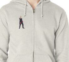 The 12th Doctor Zipped Hoodie