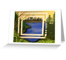My Abstract Landscape Greeting Card