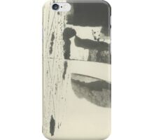 minimalist summer landscape iPhone Case/Skin
