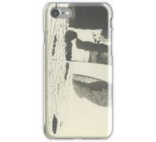 minimalist summer landscape iPhone Case/Skin