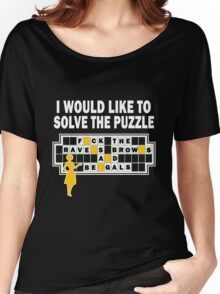 Pittsburgh Steelers - I Would Like To Solve The Puzzle Women's Relaxed Fit T-Shirt