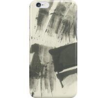 minimalist summer landscape with grove iPhone Case/Skin