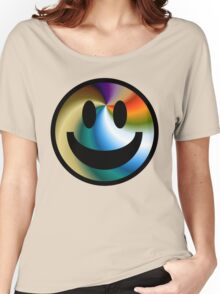 simple smiley Women's Relaxed Fit T-Shirt