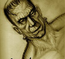 frankenstein monster by dgstudio