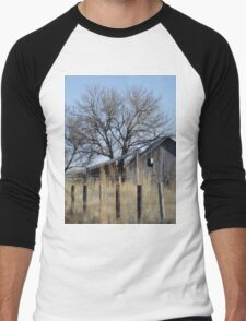 Behind the Fence Men's Baseball ¾ T-Shirt