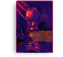 Tali'Zorah vas Normandy Canvas Print