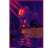 Tali'Zorah vas Normandy Photographic Print