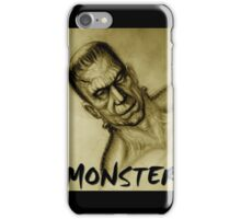 frankenstein monster iPhone Case/Skin