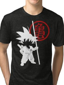 Little Goku Tri-blend T-Shirt