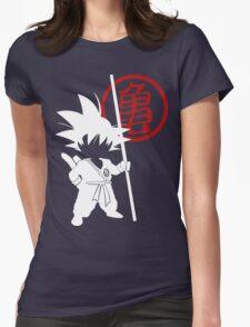 Little Goku Womens Fitted T-Shirt