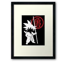Little Goku Framed Print