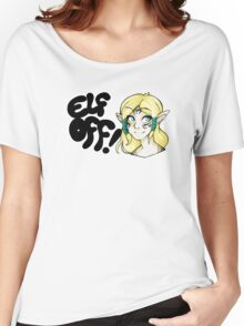 Races- Elf Off! Women's Relaxed Fit T-Shirt