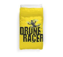 Drone Racer (Yellow) Duvet Cover