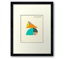 PHI: THE GOLDEN RATIO Framed Print