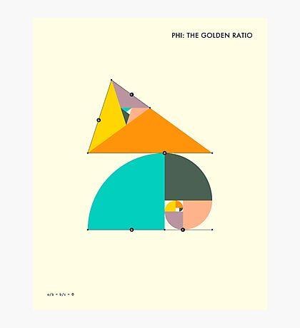 PHI: THE GOLDEN RATIO Photographic Print