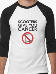 Scooters Give You Cancer Men's Baseball ¾ T-Shirt