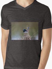 Wren World Mens V-Neck T-Shirt