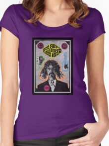 Tribute to Frank Zappa Women's Fitted Scoop T-Shirt