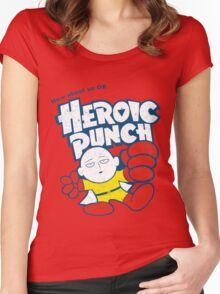 Heroic Punch Women's Fitted Scoop T-Shirt