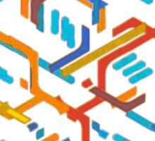 dunnoz metro Sticker