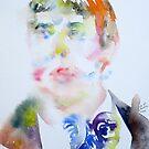 OSCAR WILDE - watercolor portrait.16 by lautir