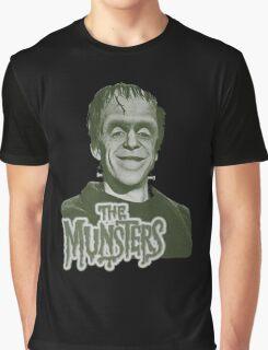 Herman Munster The Munsters Classic TV Graphic T-Shirt