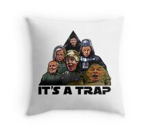 The Brexit Trap Throw Pillow