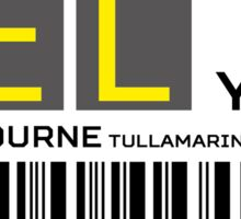 Destination Melbourne Airport Sticker