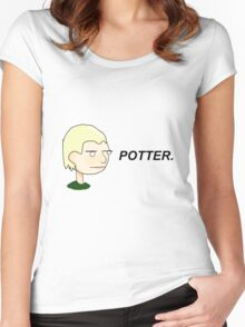 POTTER. Women's Fitted Scoop T-Shirt