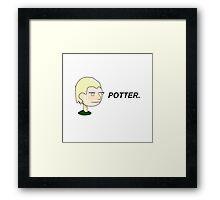 POTTER. Framed Print