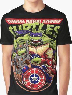Avenger Turtles Graphic T-Shirt