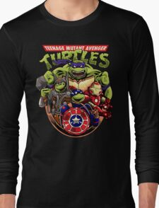 Avenger Turtles Long Sleeve T-Shirt