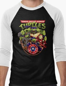 Avenger Turtles Men's Baseball ¾ T-Shirt