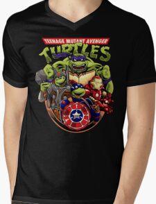 Avenger Turtles Mens V-Neck T-Shirt