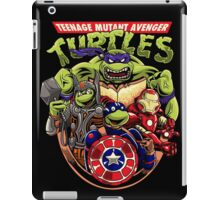 Avenger Turtles iPad Case/Skin