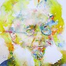 HENRIK IBSEN - watercolor portrait by lautir