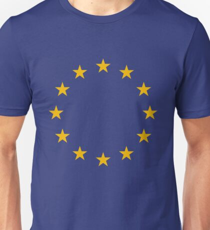 European Union Flag Unisex T-Shirt