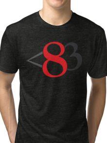 Less Than Eighty Three. Tri-blend T-Shirt