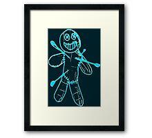 Sackman - Ouch (Blue) Framed Print