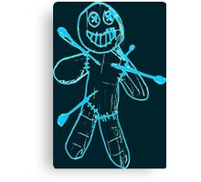 Sackman - Ouch (Blue) Canvas Print