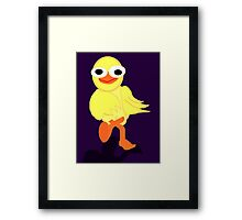Whacky Bird Framed Print