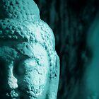 Blue Buddha by francelal