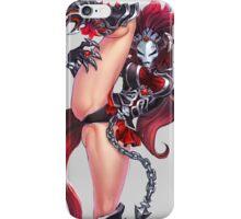 Manga Girl Concept Art 4 iPhone Case/Skin